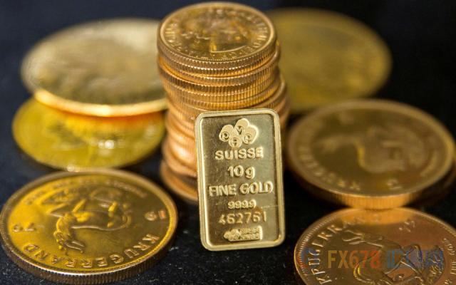 黄金逼近上日录得的逾两周低位,多数市场参与者可能错判美联储意志了